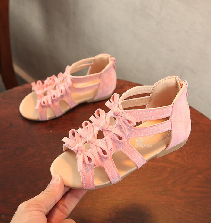 Summer Style Children Sandals Girls Princess Beautiful Flower Shoes Kids Sandals Baby Shoes Sneakers Girl Sandals