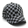2016 fashion brand men casual Baseball Caps cotton luxury quality black plaid gentleman Baseball hats Sun hat Sports cap men