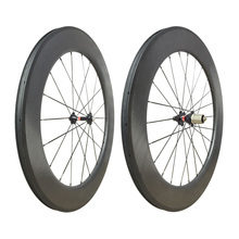 NEW Road carbon wheels dimple surface 700C clincher 80mm road wheelset matte black 25mm width 1820g free gift wheel bag black