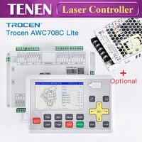 Trocen Anywells AWC 708C Lite CO2 DSP лазерного контроллер Системы материнской платы заменить AWC608 для резки детали гравировального станка
