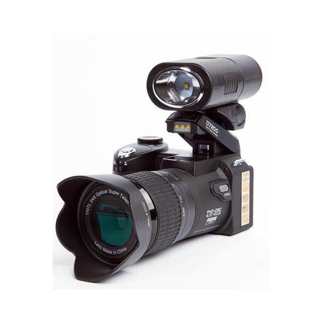 2018 HD JOZQA POLO D7200 Kỹ Thuật Số Máy Ảnh 33 Triệu Điểm Tự Động Lấy Nét SLR Chuyên Nghiệp Video Camera 24X Zoom Quang Học Ba ống kính