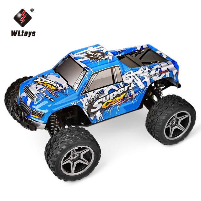 Wltoys 12402 Rc Electric Monster Cars 1 12 Scale 2 4g 4wd 2ch Rc