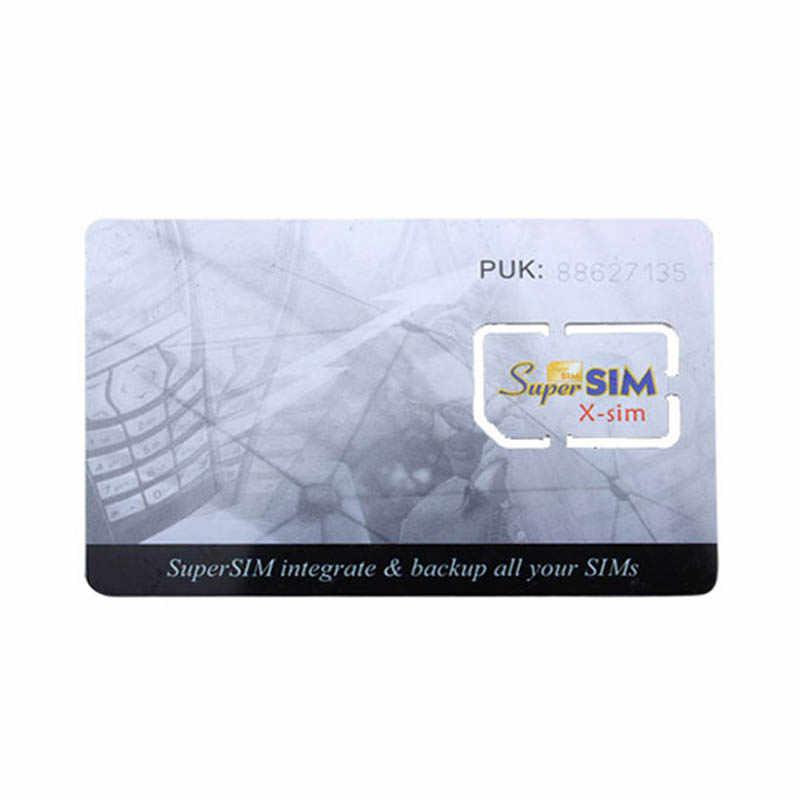 16 в 1 Max SIM для пропуска или сотового телефона Супер карта резервного телефона аксессуар NK-Shopping