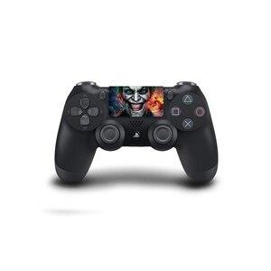 Image 3 - Joker tasarım dokunmatik yüzey PVC vinil cilt kapak PS4 için Playstation Dualshock 4 Pro Slim çıkartma
