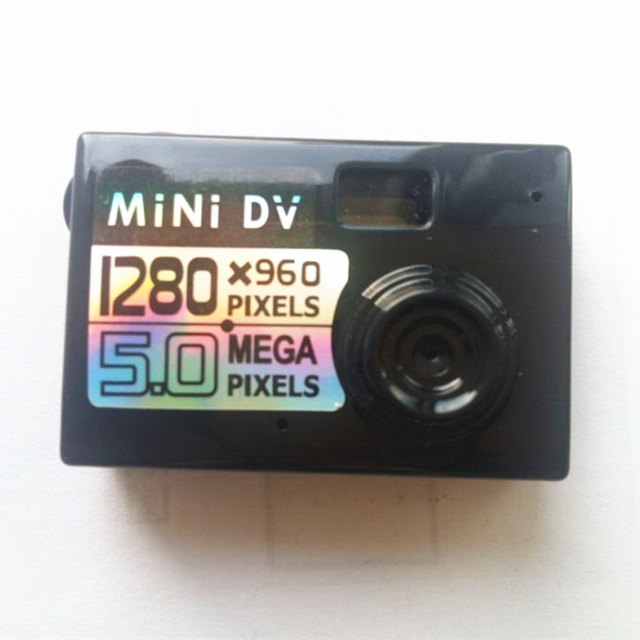 5 Mega Pixel Mini Camcorder Mini DV High Definition Camera 720P Video Recorder with Voice Mic HD Smallest Camcorder Sport DVR