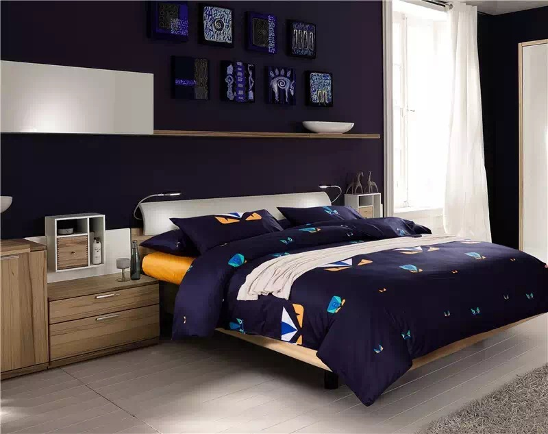 2015 Autumn New Arrival Fendi Monsters 4pcs Bedding Sets Long Staple Cotton  Satin Beddings Queen King Size In Bedding Sets From Home U0026 Garden On ...