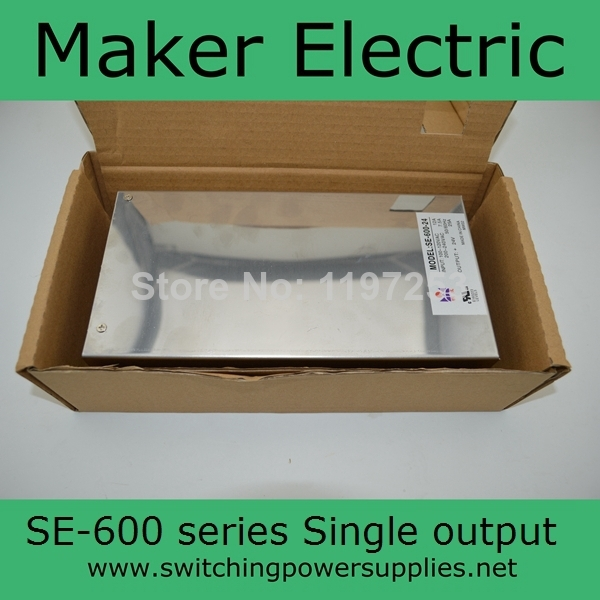 CE approved single output 600w 24v power supply SE-600-24 for LED Strip light цена