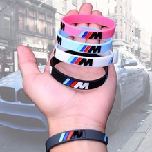 Hot Sale 2pcs Logo Engrave Fashion Bracelets Sport M Power B