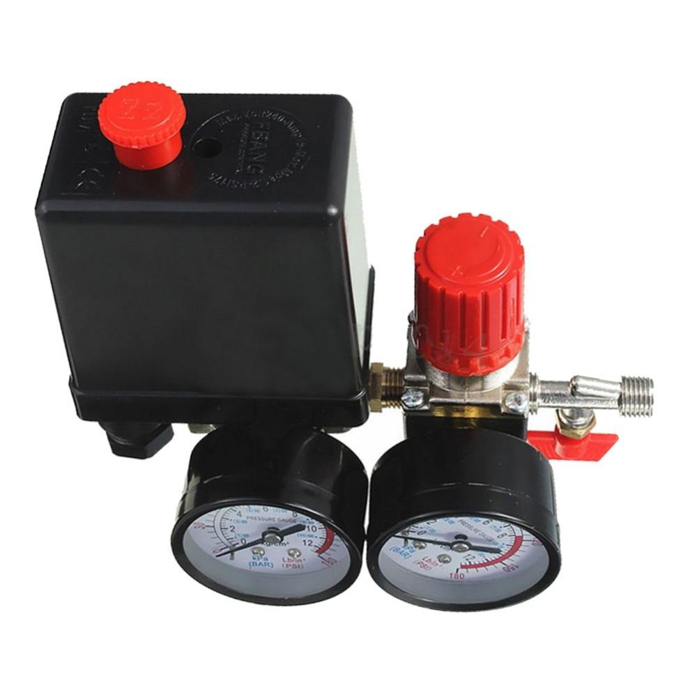 Jinshengdaair compressor válvula de pressão interruptor manifold