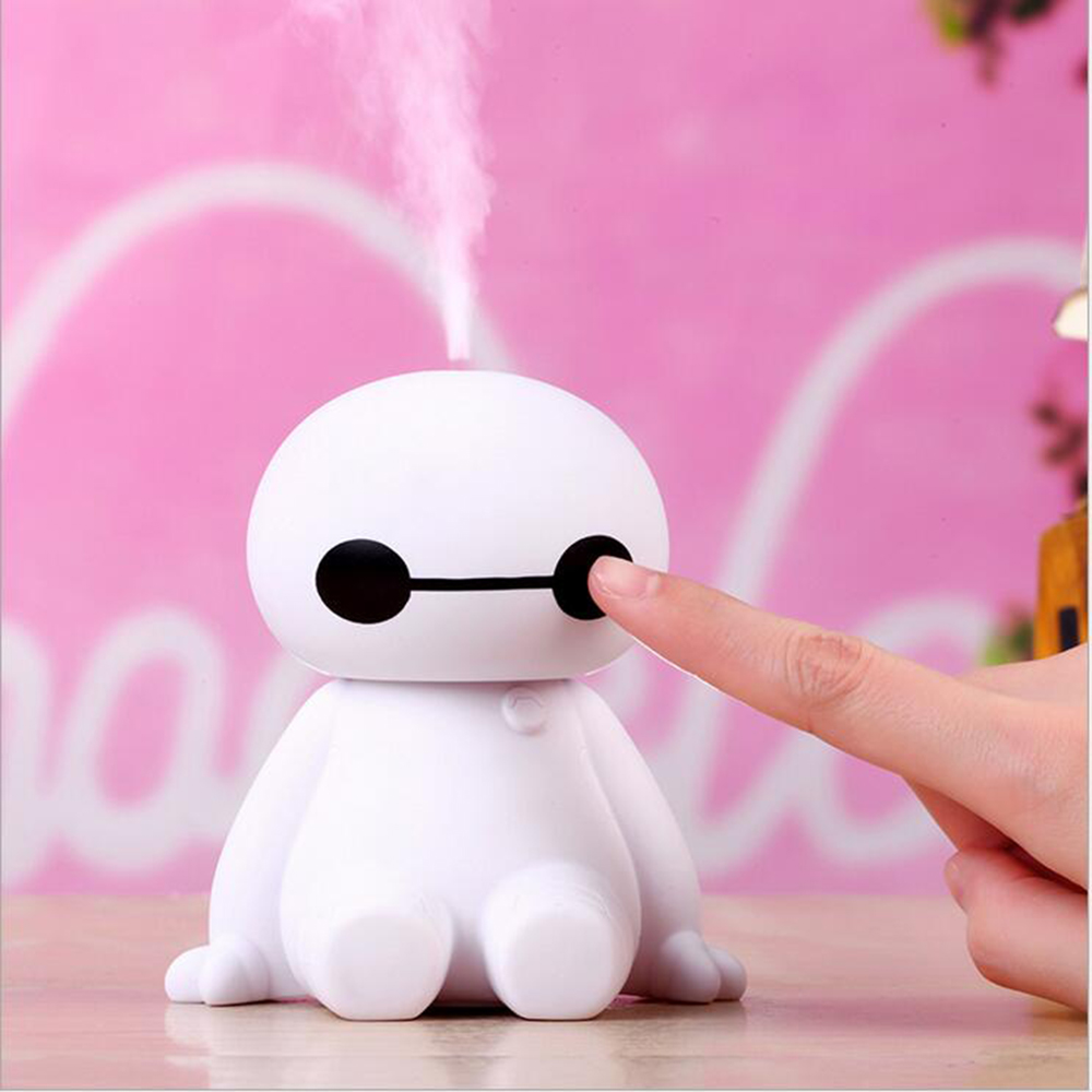 GRTCO 200ML USB Big Hero Baymax Dry Protect Ultrasonic Essential Olie - Husholdningsapparater - Foto 3