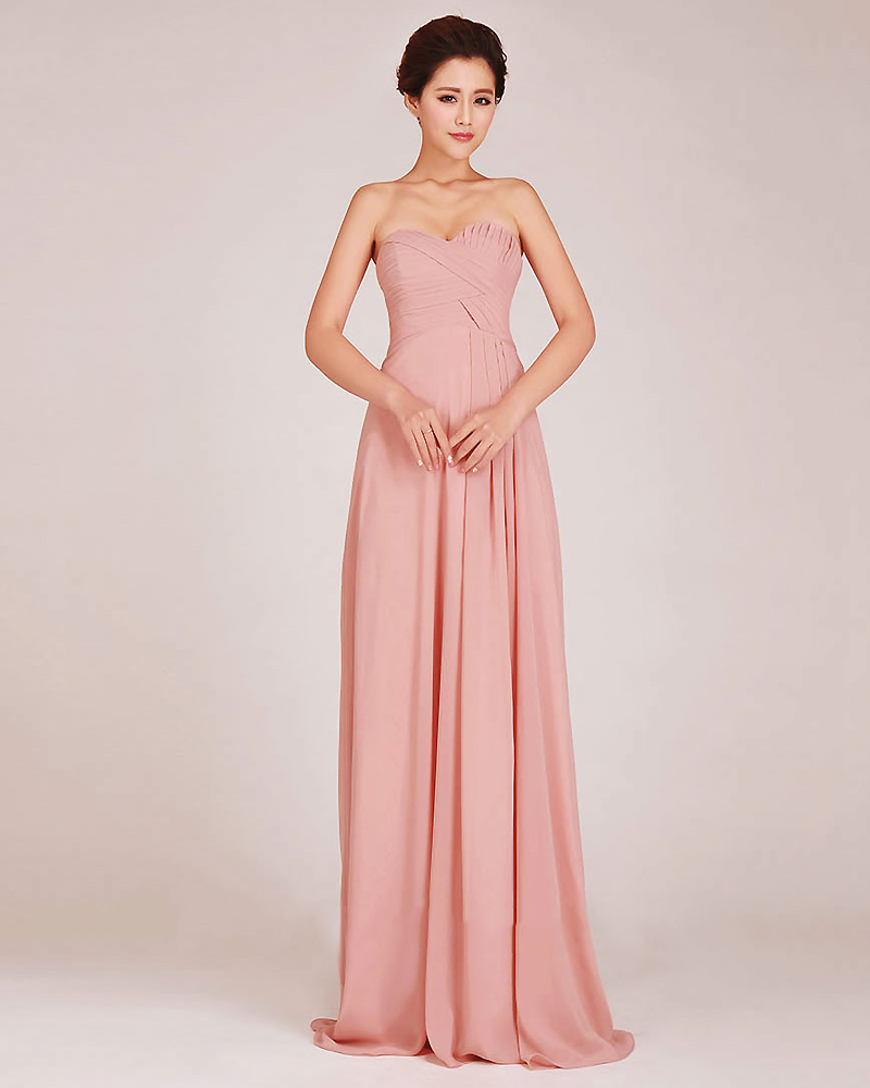 Blush pink bridesmaid dresses a line sweetheart ruched bodice long blush pink bridesmaid dresses a line sweetheart ruched bodice long chiffon bridesmaid dresses under 100 affordable dresses in bridesmaid dresses from ombrellifo Images