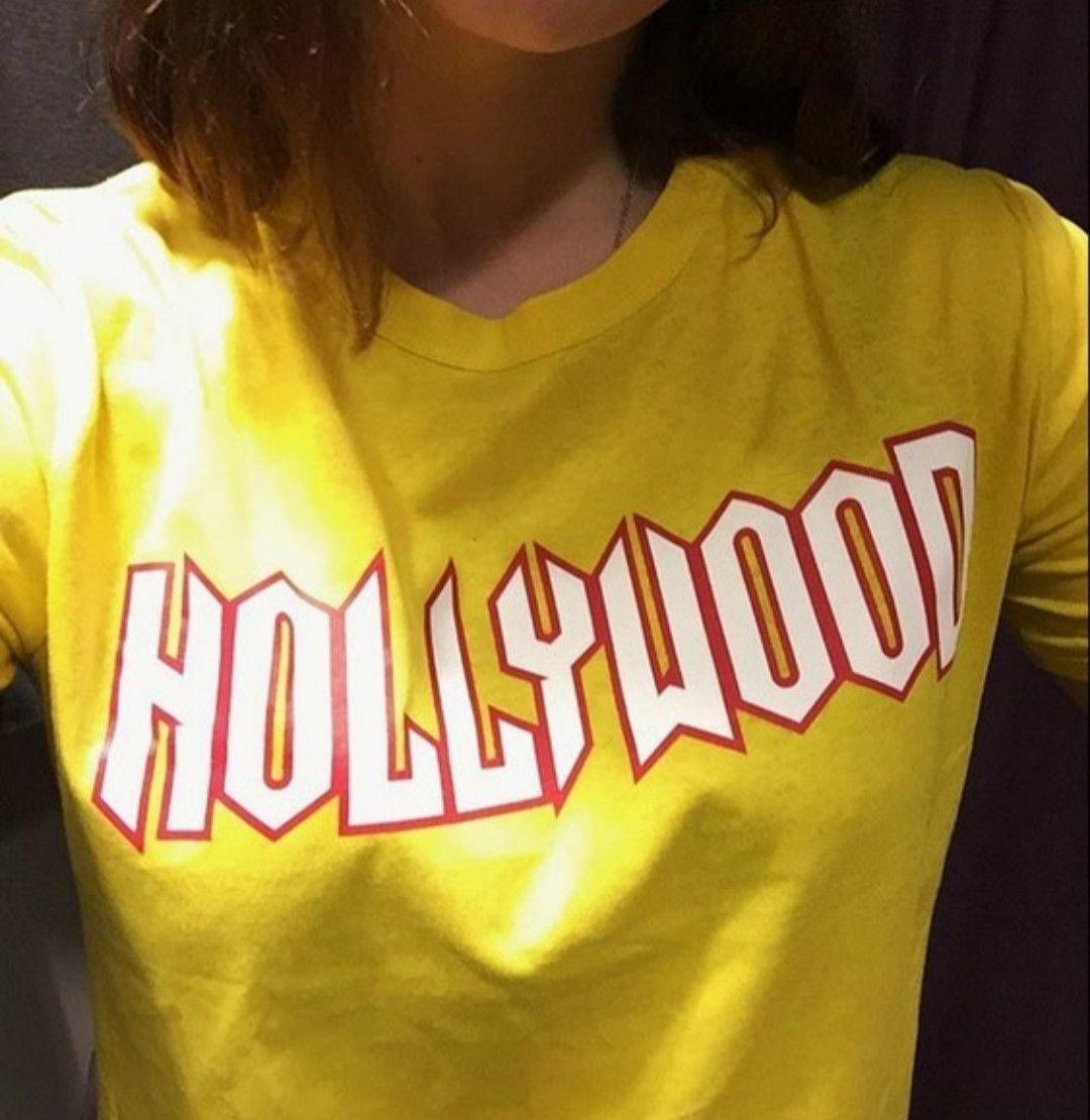 Hollywood Sign 90s Unisex Men Women Summer Style Tumblr ...