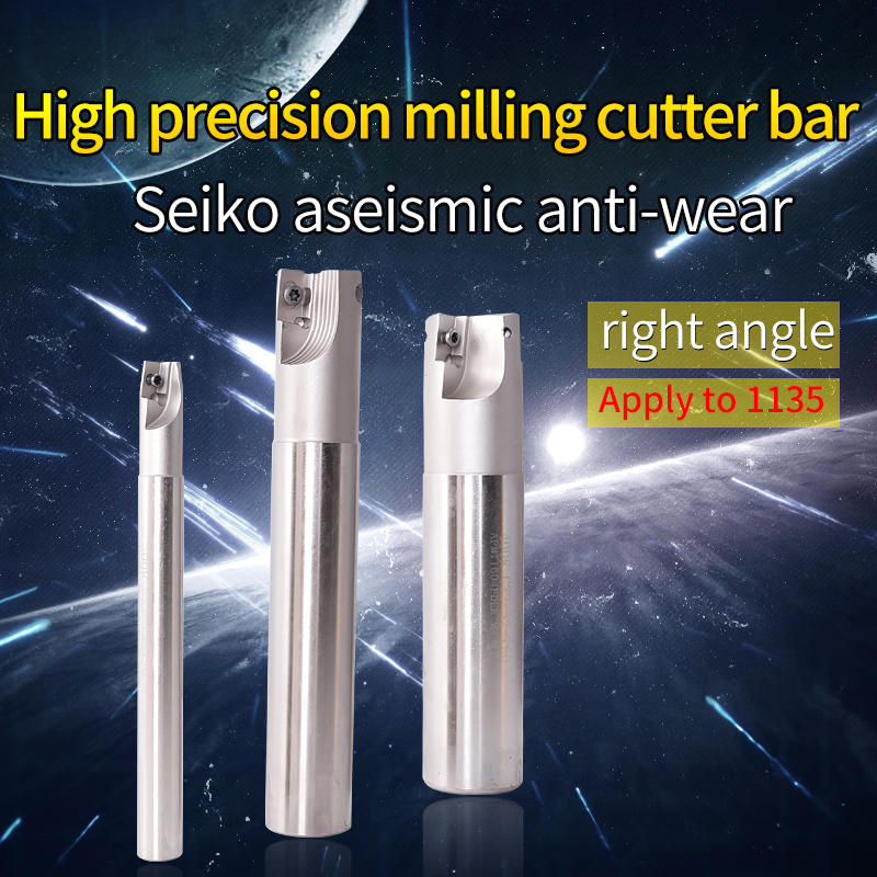 1PCS BAP300RC20-20-150-2T Milling Cutter End Mill Shank For Carbide Insert Clamped Tools Rod Cutting Right Angle
