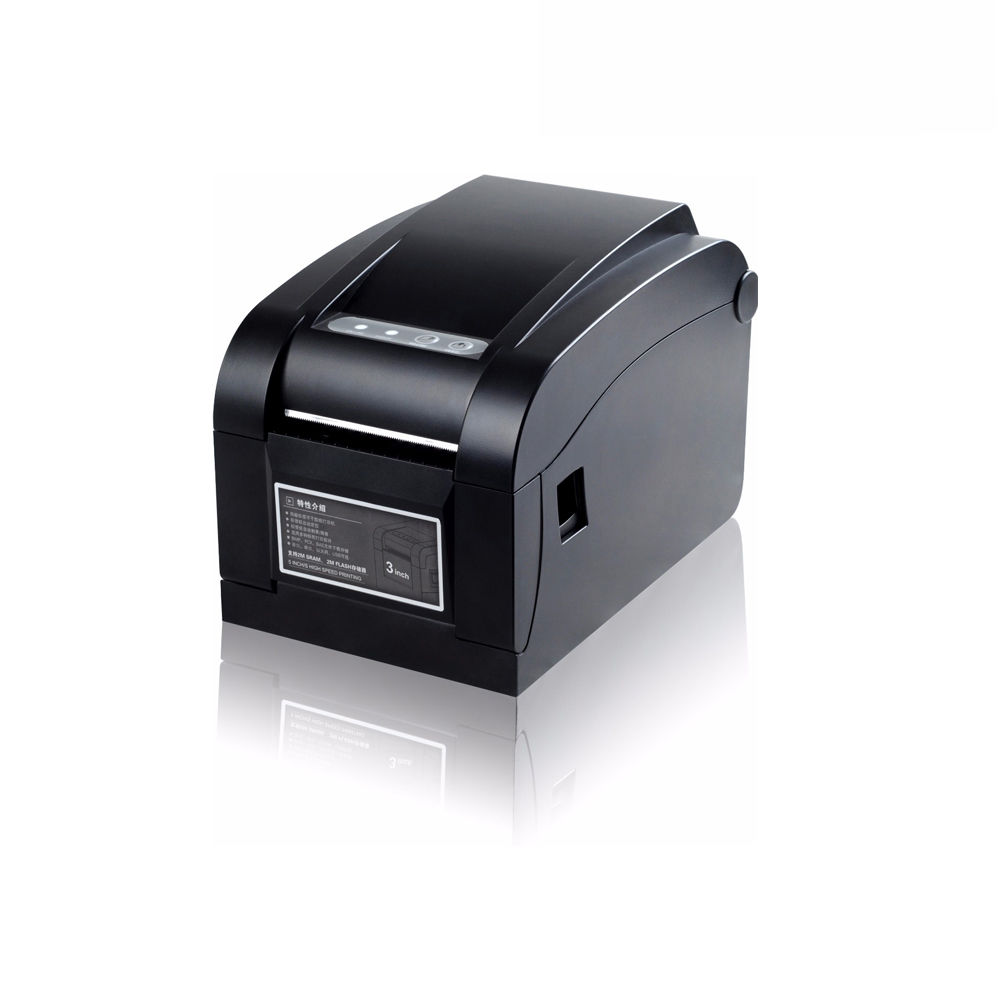 Supermarket Mall Cafe Cashier Printer New Thermal Printer Can Print Bar Code Small Printer