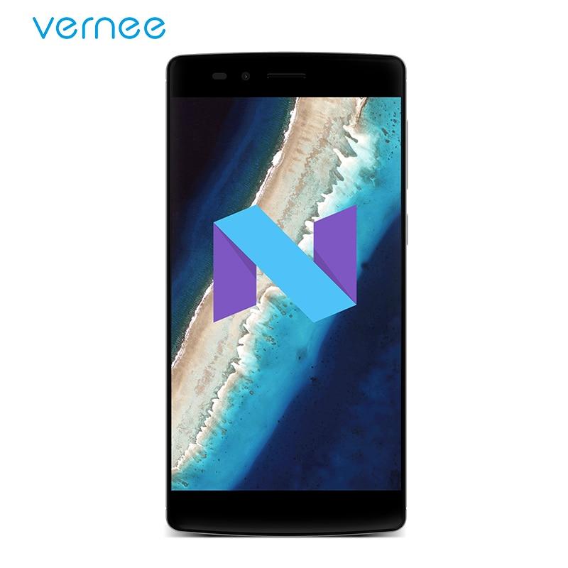 Vernee Apollo X Mobile Phone MediaTek MT Helio X20 Deca-Core 5.5 4GB RAM 64GB ROM 4G Lte Android7.0 Smartphone