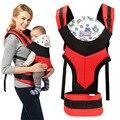 Novos Portadores de Bebê Criança estilingue Ergonômico Infantil Suspensórios Mochila Canguru Bolsa Envoltório Carry Frente Cinta de Algodão Simples Moda