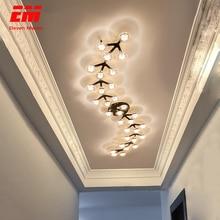 Nieuwe Led Kroonluchter Voor Woonkamer Slaapkamer Thuis Kroonluchter Door Sala Moderne Led Plafond Kroonluchter Lamp Verlichting Chandelie ZZX0008