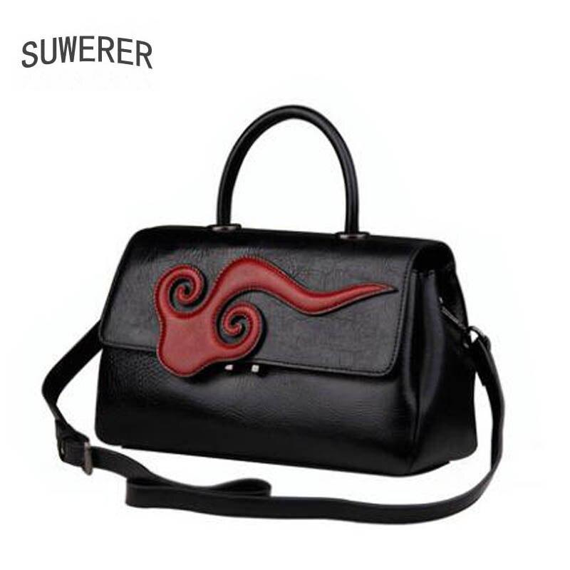 De Sacs Sac Fourre black Red Véritable En Designer Main tout Femmes À Nuages Cuir Luxe Mode Nouvelles Bandoulière xqXgHg
