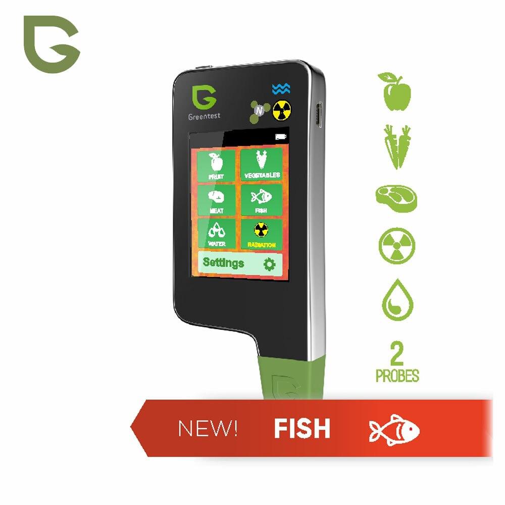 Greentest ECO-5F 3 en 1 numérique testeur de Nitrate alimentaire analyseur de Concentration analyseur de fruits/viande/poisson dureté de l'eau compteur de Radiations