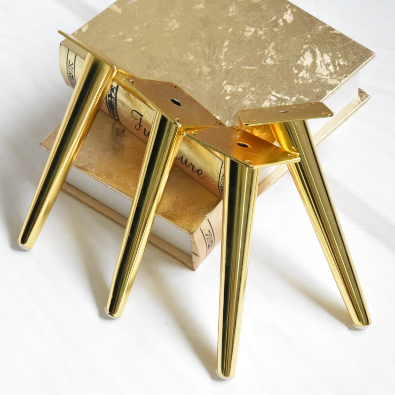 4pcs/lot Gold Stainless Steel Sofa Legs 20cm TV Cabinet Legs Metal Furniture Leg Cabinet Cupboard Table Feet