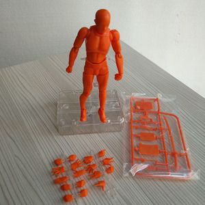 Image 5 - 15CM Art Sketch Draw Male Female Movable body chan joint Action Figure Toys artist Art painting Anime model SHF Mannequin