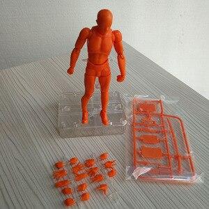 Image 5 - Boceto de Arte de 15CM para hombre y mujer, cuerpo móvil, chan, figuras de acción de juguete, Arte Artístico, Pintura Anime, modelo SHF maniquí