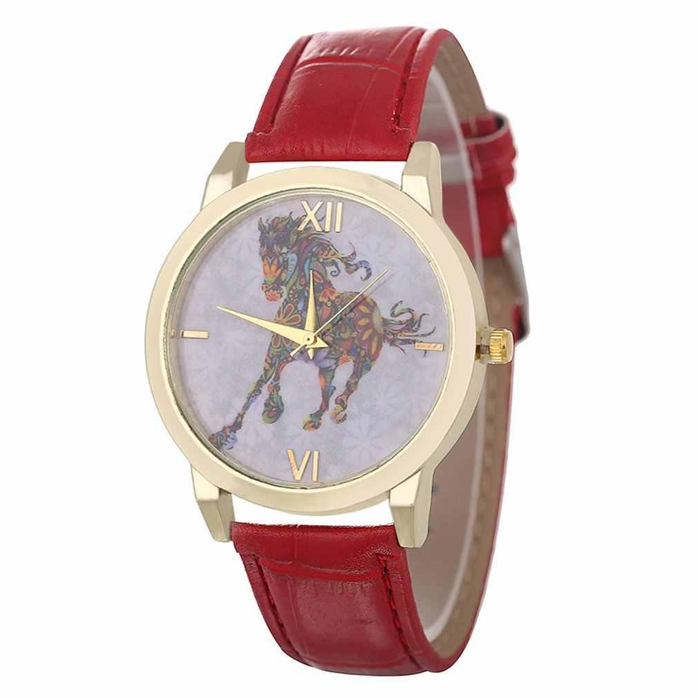 Элегантные кварцевые часы для подростков, кожаный ремешок, подарок на день рождения, модные популярные красивые подарочные часы