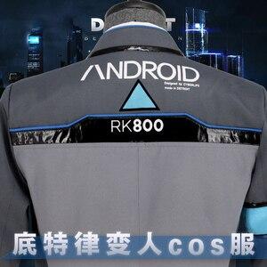 Image 5 - Ainielゲームデトロイト: なる人間コナーRK800コスプレ衣装男性剤スーツ制服コートとシャツ大人のハロウィンパーティー