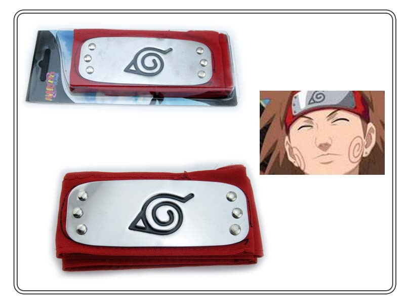 HOT ANIME Naruto Headband Leaf Village Logo Konoha Kakashi Akatsuki Members Headband Cosplay Costume Accessories 20.jpg