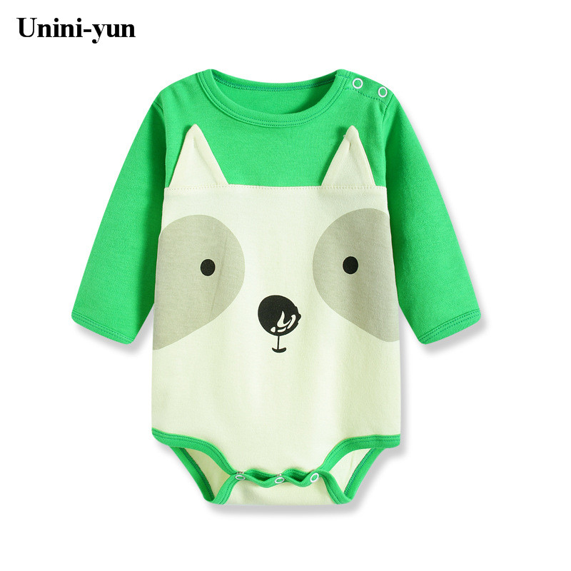 [Unini-yun]Baby Romper Children Autumn Clothing Set Baby Girl Jumpsuit Boy Rompers Long Sleeve Newborn Rompers Baby Clothes Set baby clothing summer infant newborn baby romper short sleeve girl boys jumpsuit new born baby clothes