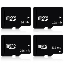 Buy Factory price!!! 100pcs/lot 64mb 128mb 256mb 512mb Micro SD Card TF Card Micro Memory Card For Cell Phone directly from merchant!