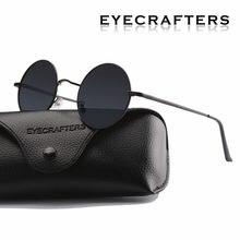 92aa5aab72 Gafas de sol redondas polarizadas clásicas de diseño de marca nuevas gafas  de sol de conducción de Metal para hombre pequeñas ga.