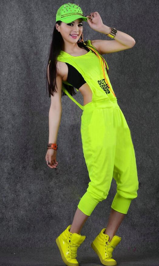Hip-hop ples kostim izvedba nositi žene romper europska kompleti - Ženska odjeća - Foto 5