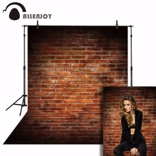 Allenjoy photophone สำหรับ Photo Studio VINTAGE VINTAGE กำแพงอิฐทารกแรกเกิดการถ่ายภาพพื้นหลังฉากหลัง photocall Photobooth