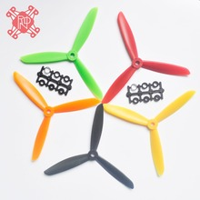 4 Pairs ABS CW/CCW propeller 6045 3 Blade 3 leaf Props Three Blade Quadcopter 6045 Propeller for flysky Frame Drone
