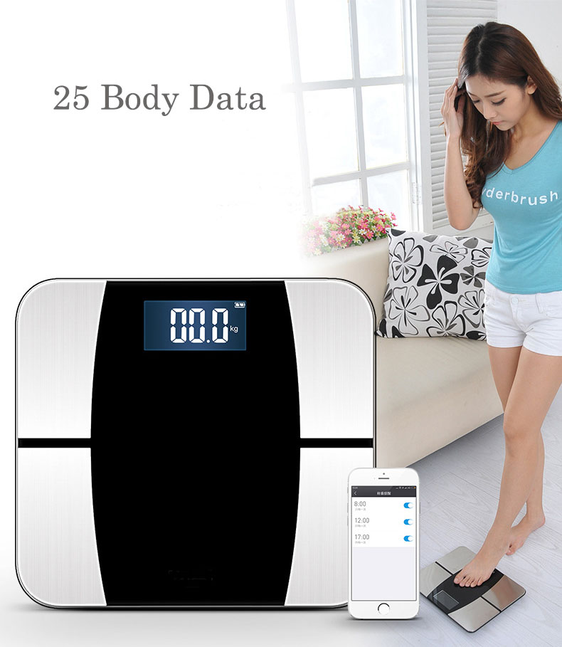 New Smart Bathroom Weight Scales Human Electronic Floor ...