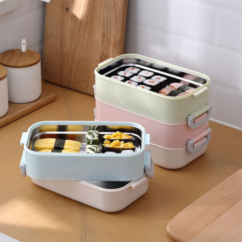 Container Store Lunch Box: Stainless Steel Thermal Insulated Lunch Box Bento Food