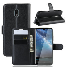 For Nokia 2.2 TA-1179 TA-1183 TA-1188 Wallet Phone Case for 3.2 4.2 Flip Leather Cover Capa Etui Coque