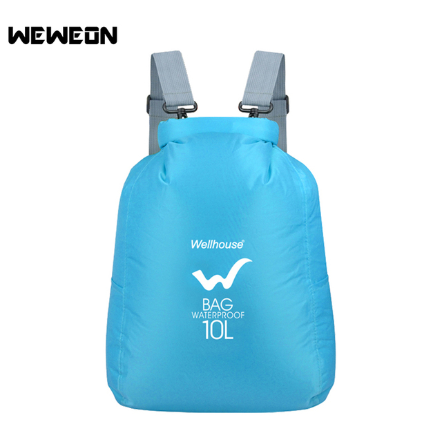 Waterproof Dry Pool Bag Swimming For Women Men Nylon Sport Backpack Water Activities Lightweight