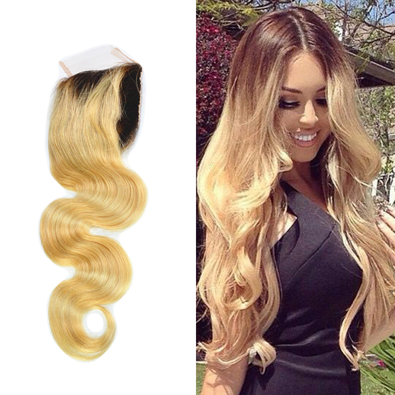 Unprocessed 8a Mongolian Virgin Hair Ombre Human Hair Sew