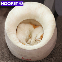 HOOPET Pet Cat Dog Warm Comfortable House Puppy Soft bed Dog Beds for Small Dogs