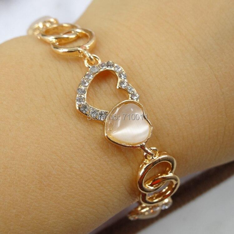gold hand bracelet for girls