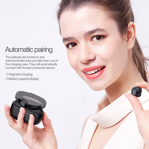 Image 4 - NILLKIN TWS 5.0 Bluetooth headphone 3D stereo wireless earphone IPX4 water resistance Handsfree Earbuds with charging case