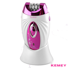 Kemei 3 in 1 Personal Care Machine Rechargeable Epilator Shaver