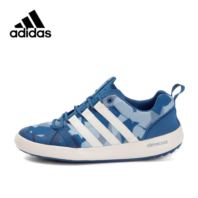 wholesale dealer 924a5 dac25 Original New Arrival Authentic Adidas TERREX CC BOAT GRAPHIC Men's Aqua  Shoes Outdoor Sports Sneakers BB6104 BB6105-in Upstream Shoes from Sports &  ...