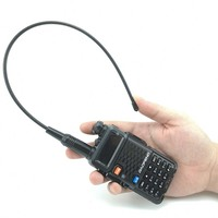 """uv 5r uv 1 / 2pcs ANEOU NA-771 VHF / אנטנה Talkie Walkie Band Dual UHF עבור Baofeng UV-5R UV-82 BF-888S Yaesu DMR Portable 10 ק""""מ Ham CB רדיו (3)"""