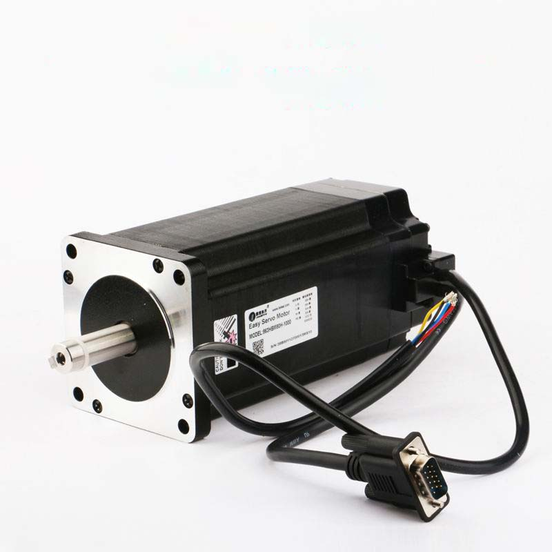 1000W Leadshine 3-phase Easy Servo motor 863HBM80H-E1 frame NEMA 34 out Torque 12NM encoder 1000 lines CNC closed loop system 100w new leadshine closed loop system a servo drive hbs507 and 3 phase servo motor 573hbm10 1000 with a cable a set cnc part