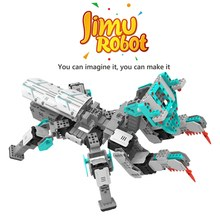 Hotly DIY Electric UBTECH Jimu 3D Programmable Creativity DIY Robot Kit For Puzzle Assemble Robot Educational Toys Gift For Kids(China)