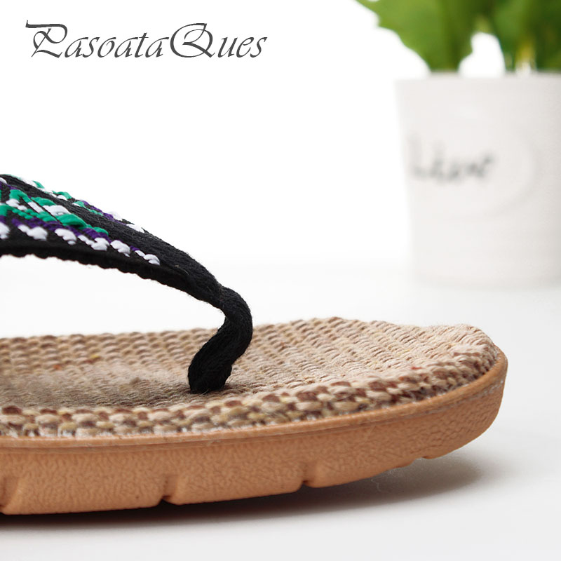 ab68f727c0c703 Hemp Men Women Shoes Flip Flops Spring Summer Breathable Home House Indoor  Slippers Pasoataques Brand Asspfhp108-in Flip Flops from Shoes on  Aliexpress.com ...