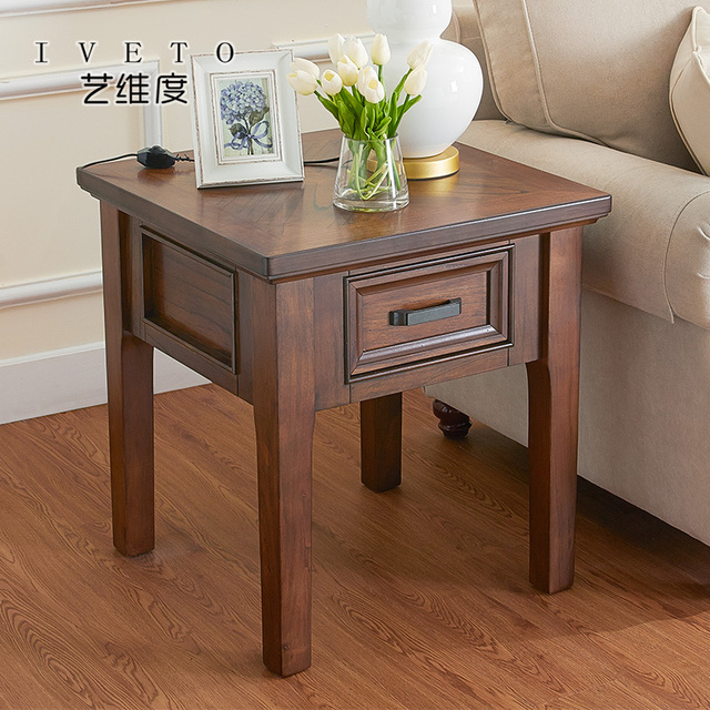 American Wood Side A Few Rustic Small Apartment Sofa Corner Simple Tables Coffee Table Living Room
